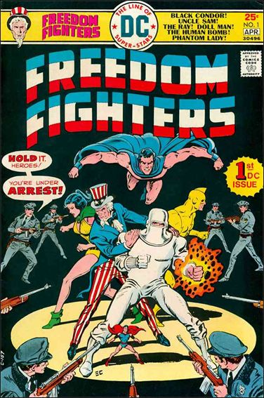 Freedom Fighters (1976) 1-A by DC