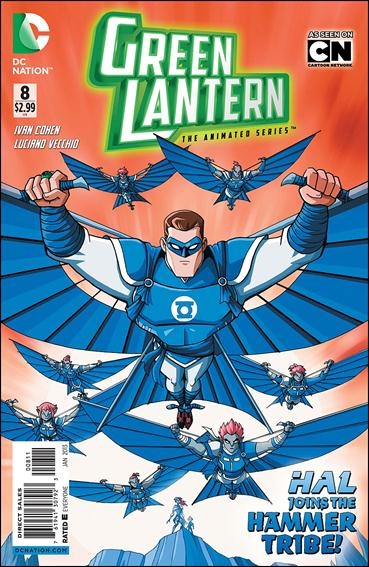 Green Lantern: The Animated Series 8-A by DC