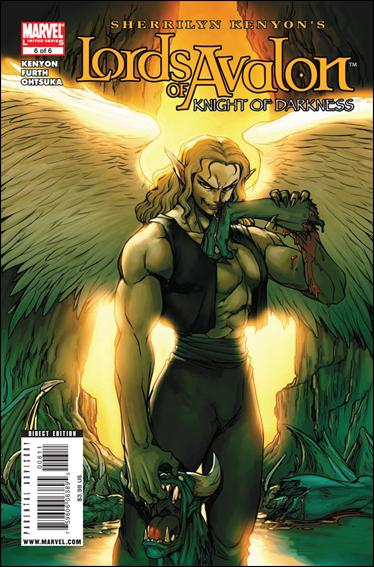 Lords of Avalon: Knight of Darkness 6-A by Marvel