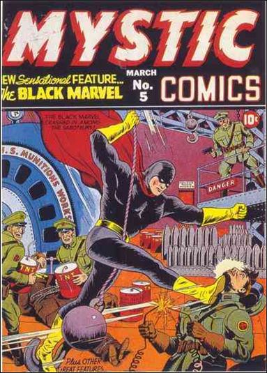 Mystic Comics (1940) 5-A by Timely