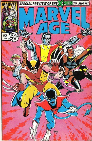 Marvel Age 63-A by Marvel