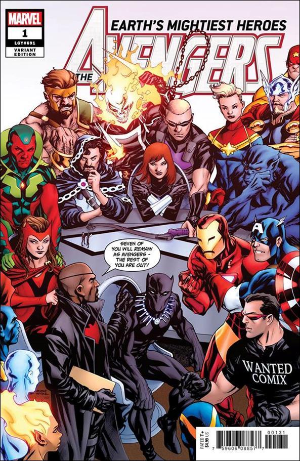 Avengers (2018/07) 1-Q by Marvel