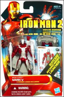 Iron Man 2 Iron Man - Mark V (Movie Series) by Hasbro