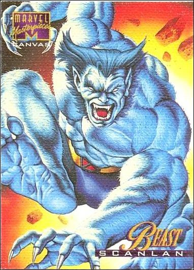1995 Marvel Masterpieces (Canvas Subset) 2-A by Fleer