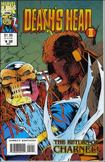 Death's Head II (UK) (1992/12) 12-A by Marvel UK