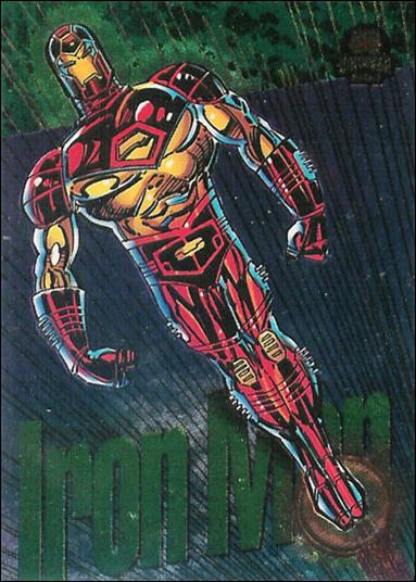 Marvel Universe: Series 5 (Power Blast Subset) 7-A by Fleer