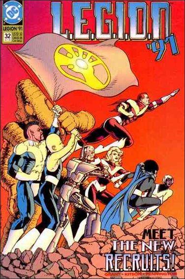 L.E.G.I.O.N. 32-A by DC