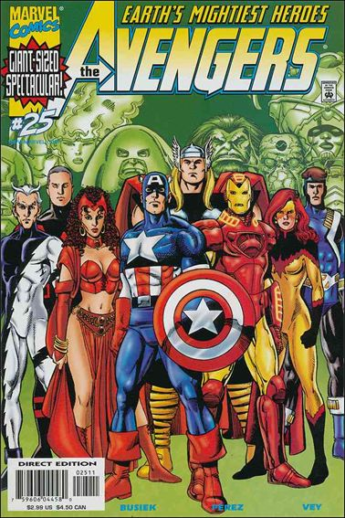Avengers (1998) 25-A by Marvel