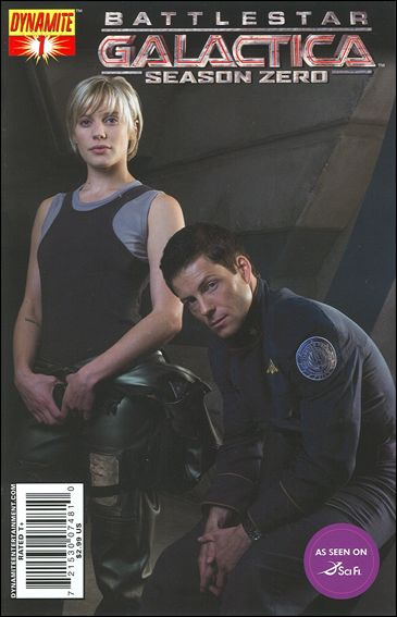 Battlestar Galactica: Season Zero 1-D by Dynamite Entertainment