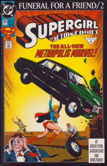 Action Comics (1938) 685-B by DC