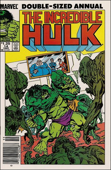 Incredible Hulk Annual  14-A by Marvel