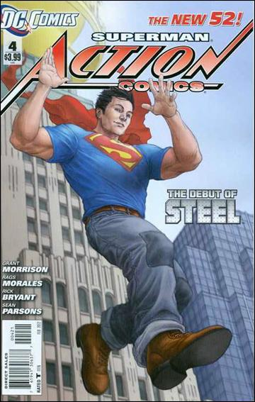 Action Comics (2011) 4-B by DC