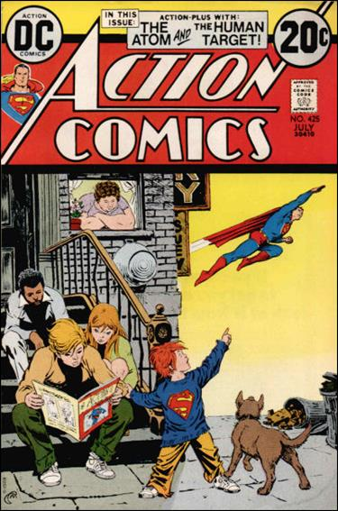 Action Comics (1938) 425-A by DC