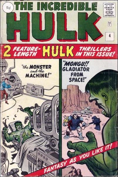 Incredible Hulk (1962) 4-B by Marvel