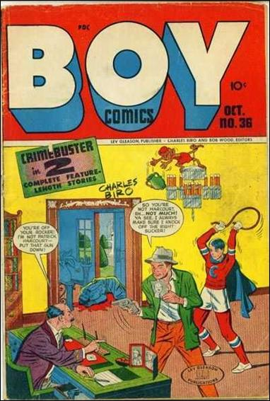 Boy Comics 36-A by Lev Gleason Productions