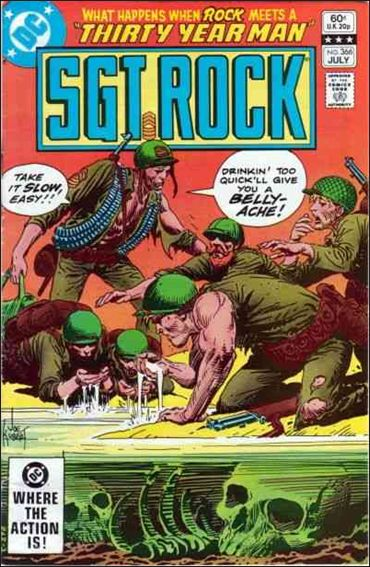 Sgt. Rock (1977) 366-A by DC
