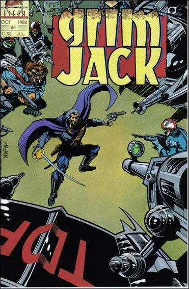 Grimjack 51-A by First