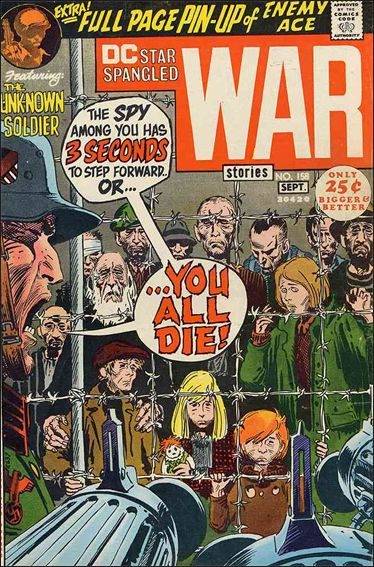 Star Spangled War Stories (1952) 158-A by DC