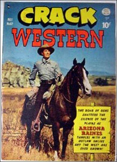 Crack Western Comics 67-A by Quality