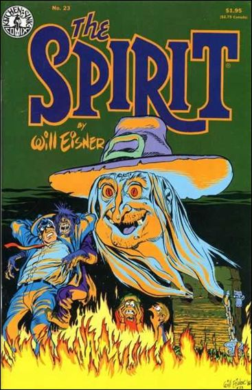 Spirit (1983) 23-A by Kitchen Sink