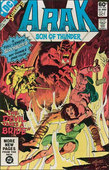 Arak Son of Thunder 2-A by DC