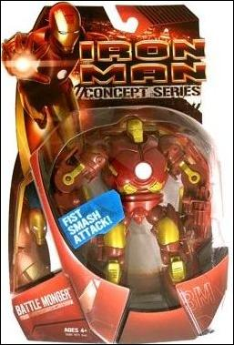 Iron Man (Movie) Battle Monger by Hasbro