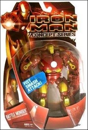 Iron Man (Movie) Battle Monger