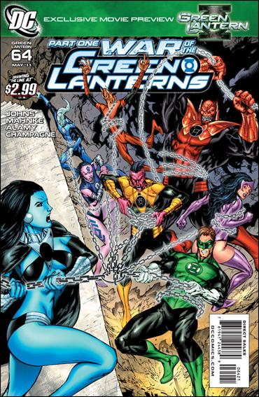 Green Lantern (2005) 64-B by DC
