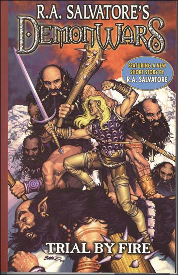 R.A. Salvatore's DemonWars: Trial by Fire 1-A by CrossGen