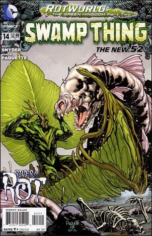 Swamp Thing (2011) 14-A by DC