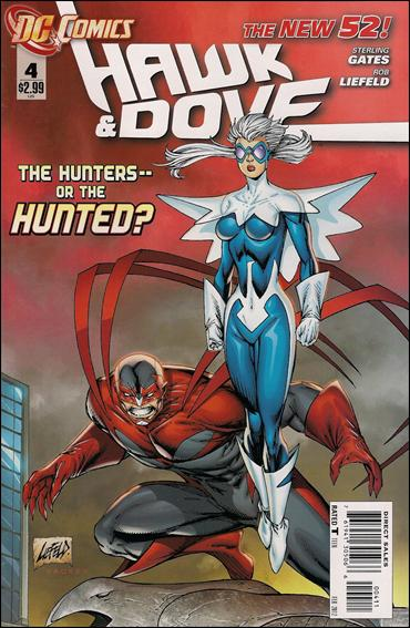 Hawk and Dove (2011) 4-A by DC
