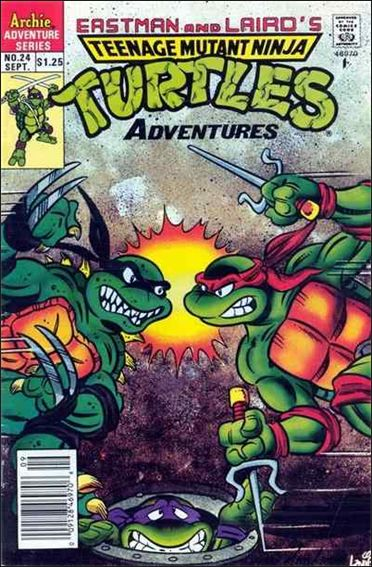Teenage Mutant Ninja Turtles Adventures (1989) 24-A by Archie
