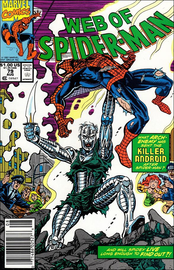 Web of Spider-Man (1985) 79-A by Marvel