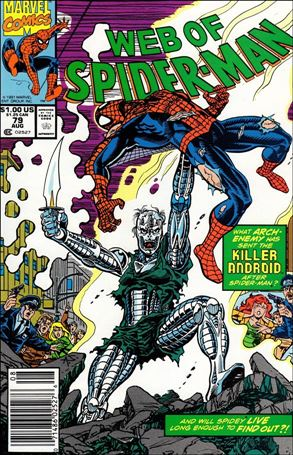 Web of Spider-Man (1985) 79-A