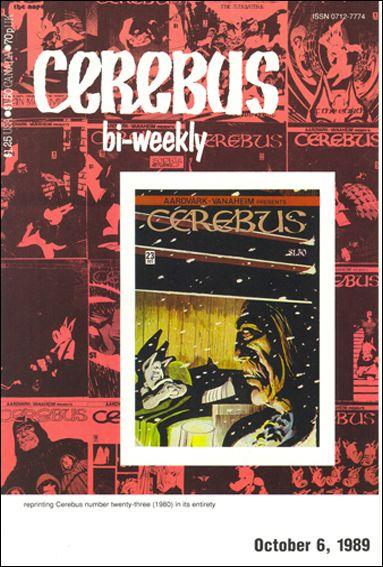 Cerebus Bi-Weekly 23-A by Aardvark-Vanaheim