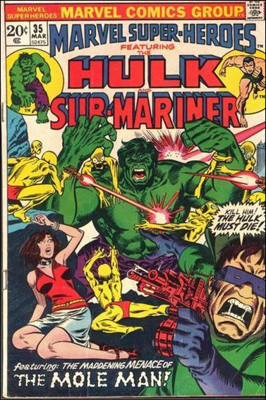 Marvel Super-Heroes (1967) 35-A by Marvel