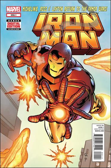 Iron Man (1968) 258.1-A by Marvel