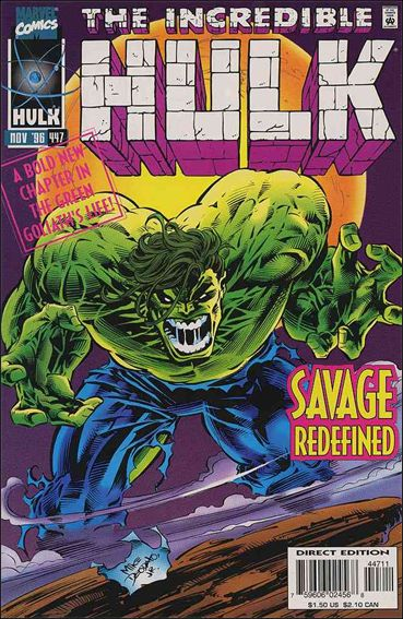 Incredible Hulk (1968) 447-A by Marvel