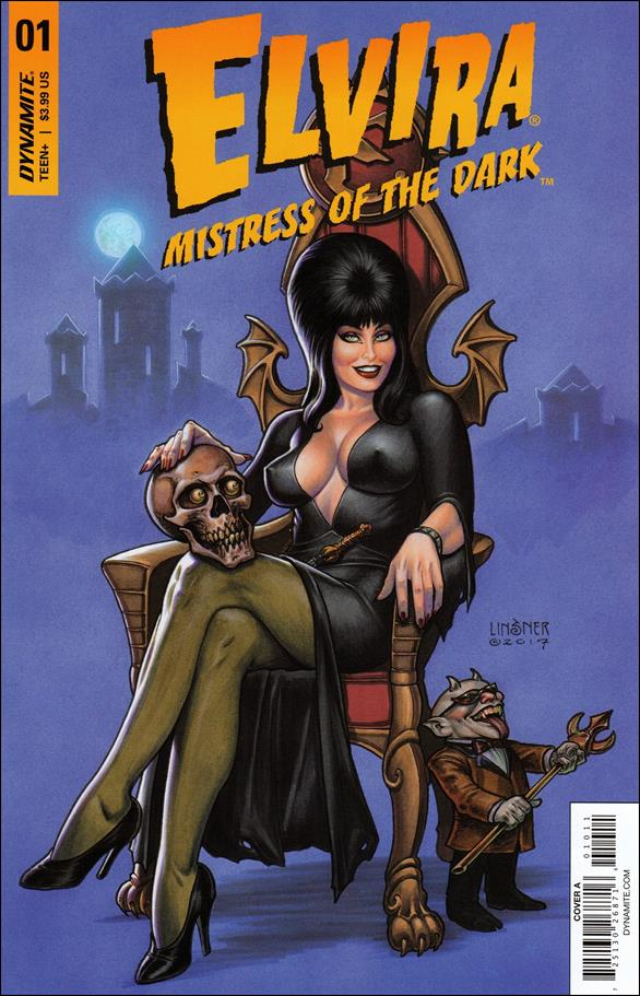 Elvira, Mistress of the Dark (2018) 1-A by Dynamite Entertainment