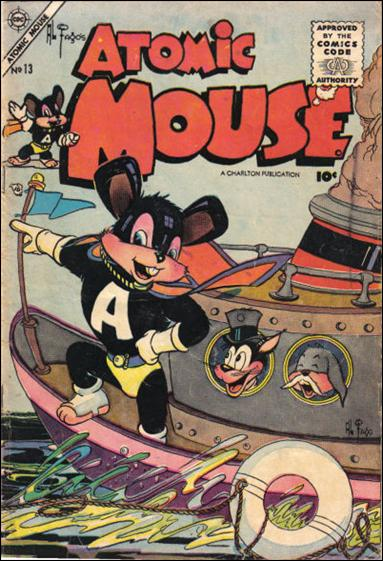 Atomic Mouse (1953) 13-A by Charlton
