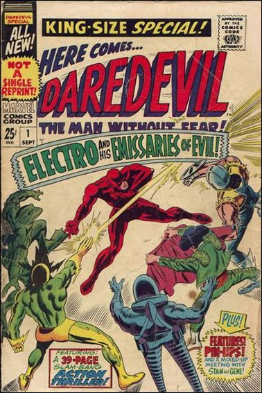 Daredevil Annual 1-A by Marvel