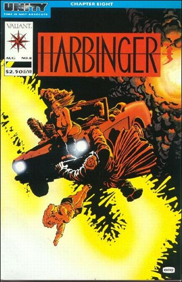 Harbinger (1992) 8-A by Valiant
