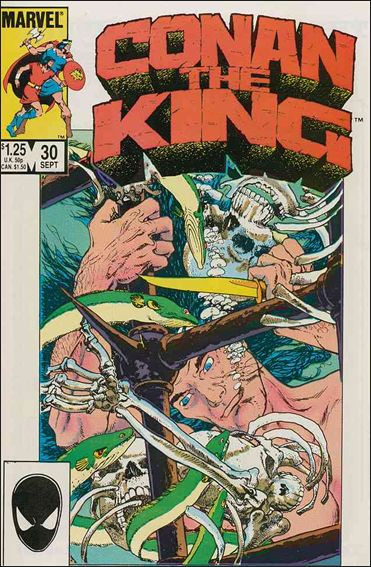 Conan the King 30-A by Marvel