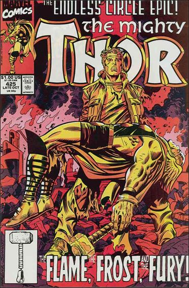 Thor (1966) 425-A by Marvel