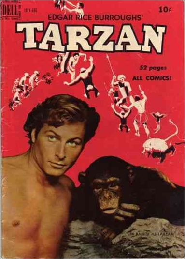 Tarzan (1948) 16-A by Dell