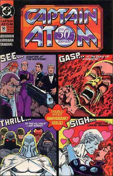 Captain Atom (1987) 50-A by DC