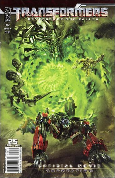 Transformers: Revenge of the Fallen Official Movie Adaptation 2-A by IDW