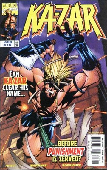 Ka-Zar (1997) 16-A by Marvel