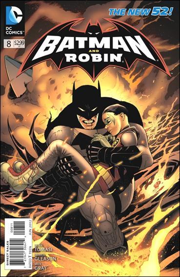 Batman and Robin (2011) 8-A by DC