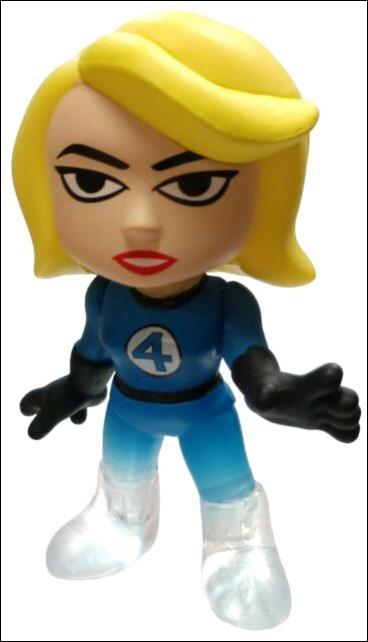 Fantastic Four Mystery Minis Invisible Woman  (Gamestop Exclusive) by Funko